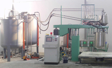 Model BFP batch foaming machine
