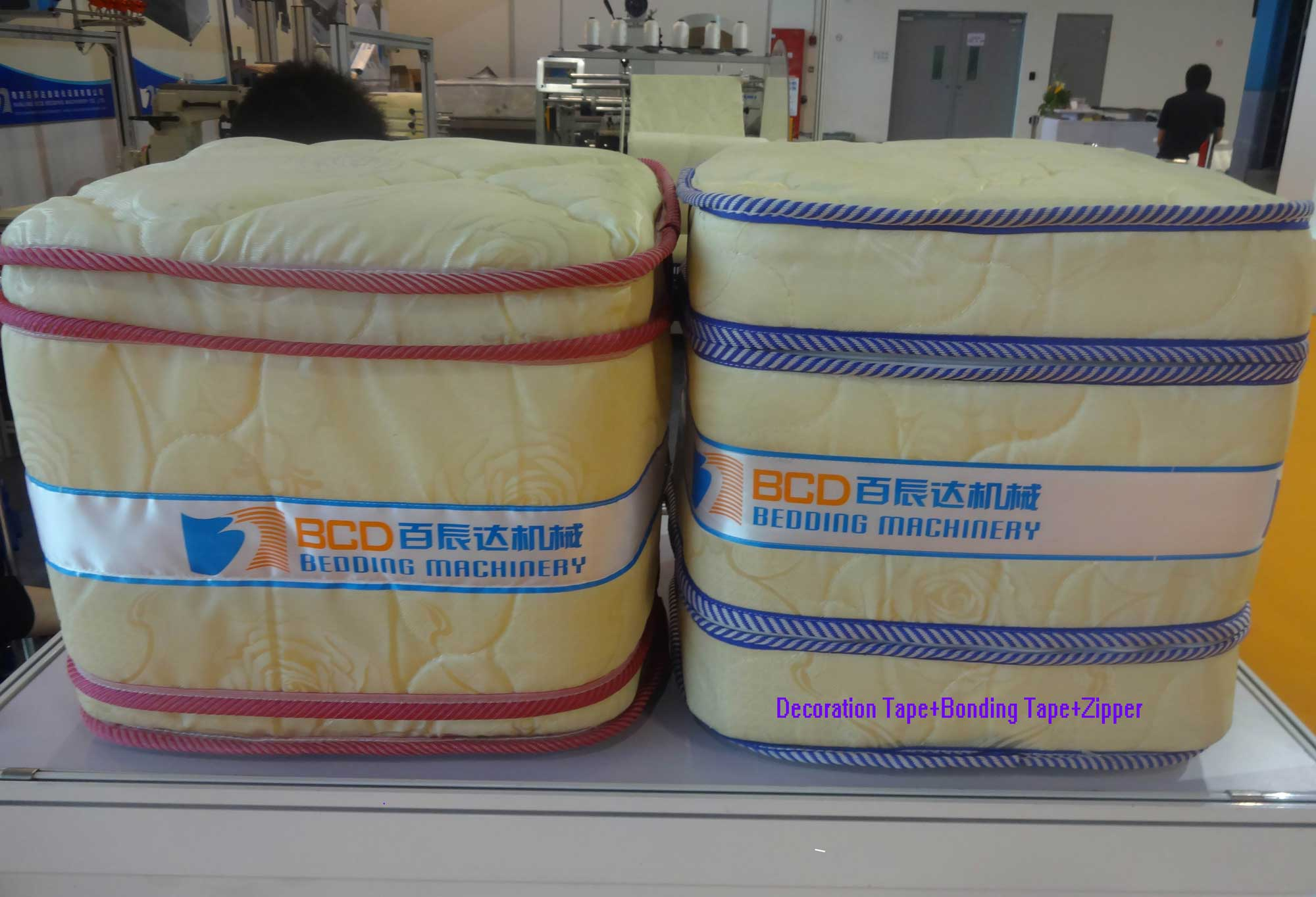Model BFD Mattress Decoration Tape Sewing System(3 In 1)