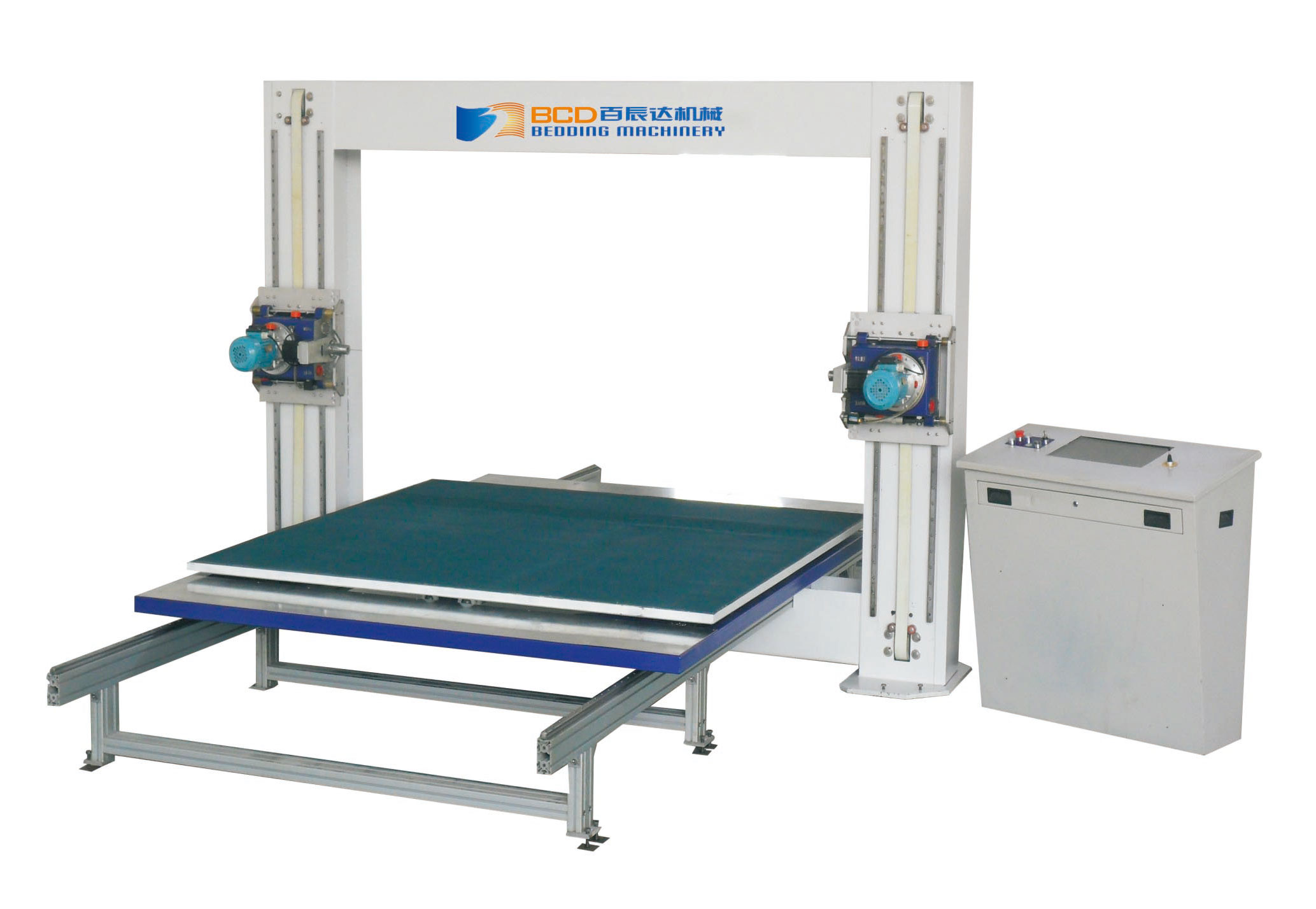 BFXQ-3 FOAM HORIZONTAL CUTTER MACHINE(ROTARY TABLE)